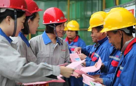 赵县社保局深入企业开展工伤保险宣传