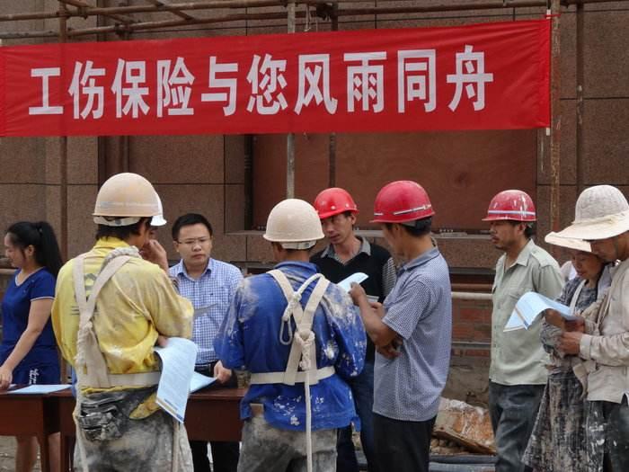 黑河市人社局检查组深入嫩江县进行工伤保险内部控制专项检查